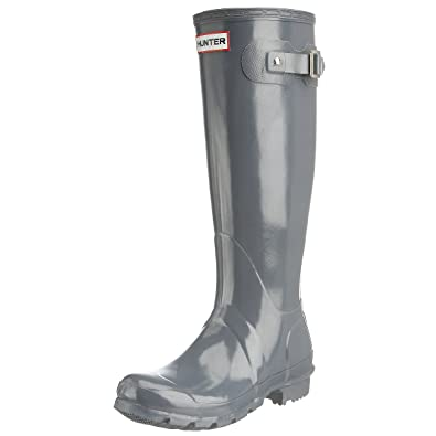 new product 8c3b5 54d16 Hunter Gummistiefel Tall Gloss: Amazon.de: Schuhe & Handtaschen