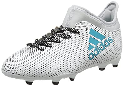 premium selection 6bc39 7cbe6 adidas Girls  X 73 Fg J Footbal Shoes, Multicolor (FTWR White Energy