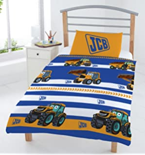JCB Junior Duvet Set Blue