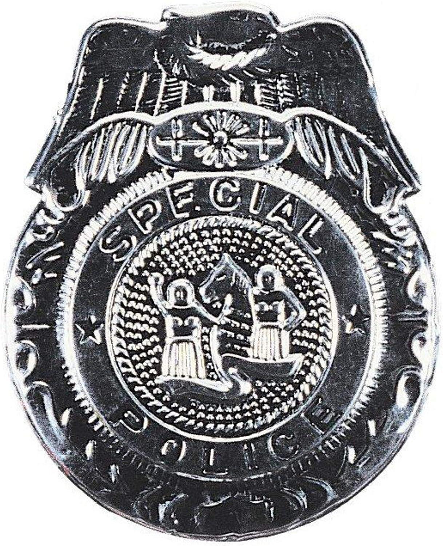 Rubies distintivo ufficiale speciale polizia per adulto taglia unica