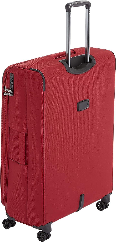Basics Premium Expandable Softside Spinner Suitcase Luggage with TSA Lock and Wheels