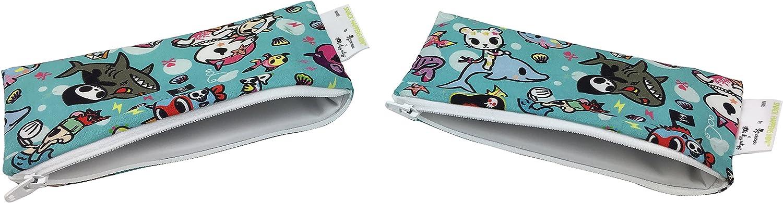 Itzy Ritzy Tokidoki Snack Happens Mini Reusable Bag Mermicorno All Stars