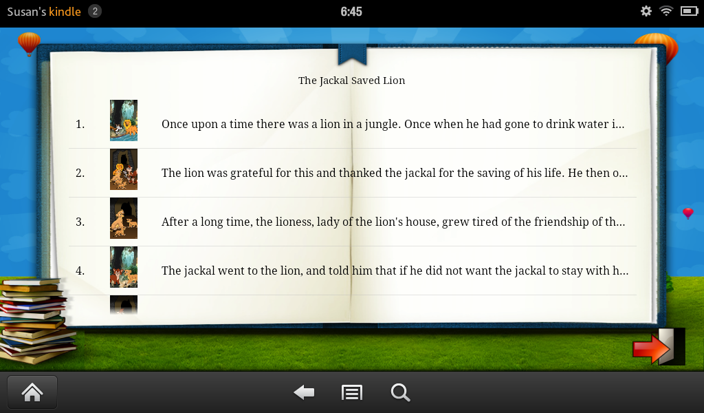 Amazon the jackal saved lion appstore for android fandeluxe Images