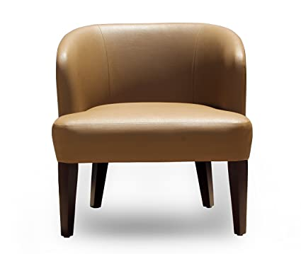 Fourzone Wall Street Lounge Chair (Cappuccino)