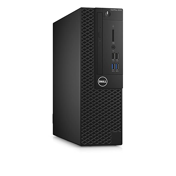 Dell 99K5T OptiPlex 3050 Small Form Factor Desktop Computer, Intel Core i5-7500, 8GB DDR4, 256GB Solid State Drive, Windows 10 Pro