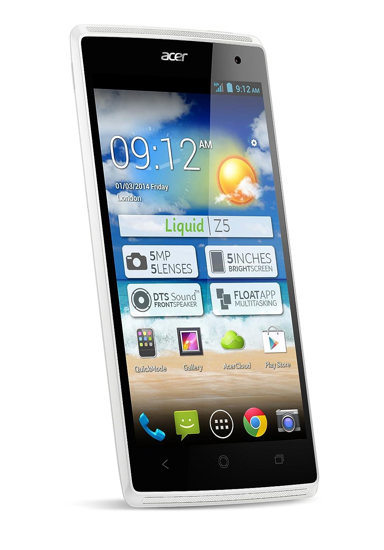 ACER Liquid Z5 Smartphone Libre 4 GB (pantalla de 5): Amazon.es ...
