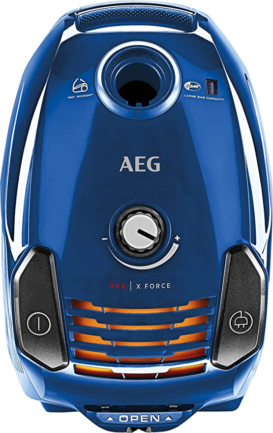 AEG VX6 Force Aspiradora con bolsa con cepillo parketto, color ...