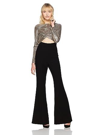 d4f0b9d6464 Amazon.com  Black Halo Women s Angie Jumpsuit  Clothing