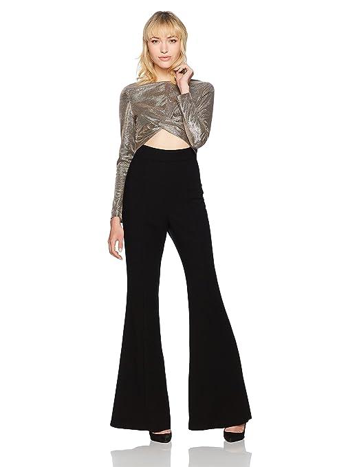daeb21ead26 Amazon.com  Black Halo Women s Angie Jumpsuit  Clothing