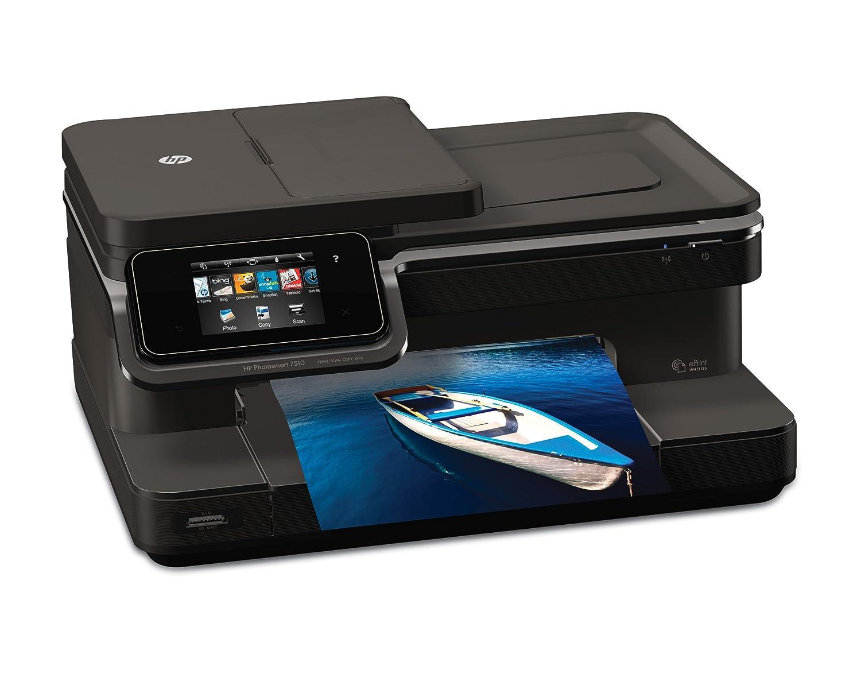 HP Photosmart 7510 e-AiO - Impresora multifunción (Inyección de tinta, Color, Color, 3,5 ppm, 9600 x 2400 DPI, 9 ppm) Negro