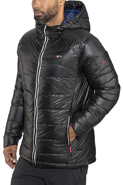 Yeti Ace Down Jacket Men – Chaqueta de plumón, Hombre, Black/Estate Blue