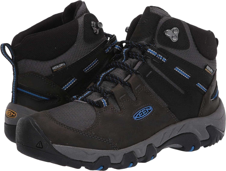 KEEN Mens Steens Mid Wp Hiking Boot