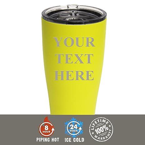 amazon com engraved custom sic cup tumbler personalized 30 oz