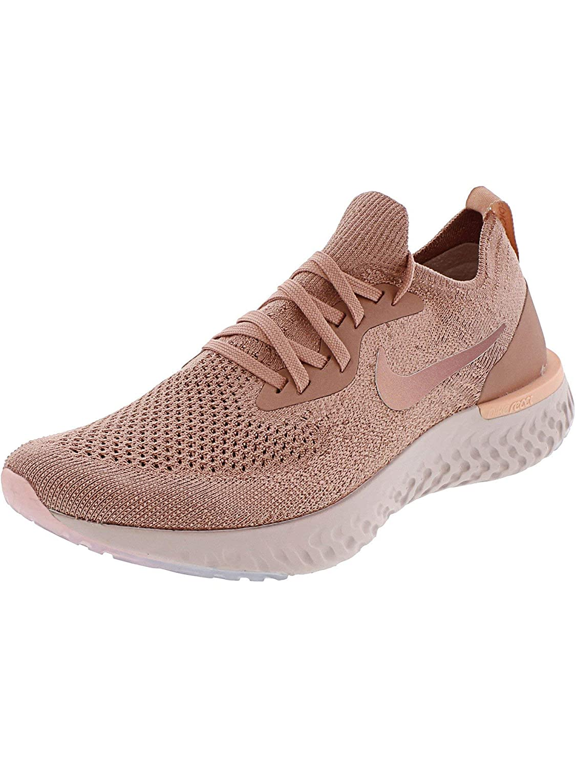 MultiCouleure (Rust rose rose Tint Tropical rose 602) Nike WMNS Epic React Flyknit, paniers Basses Femme