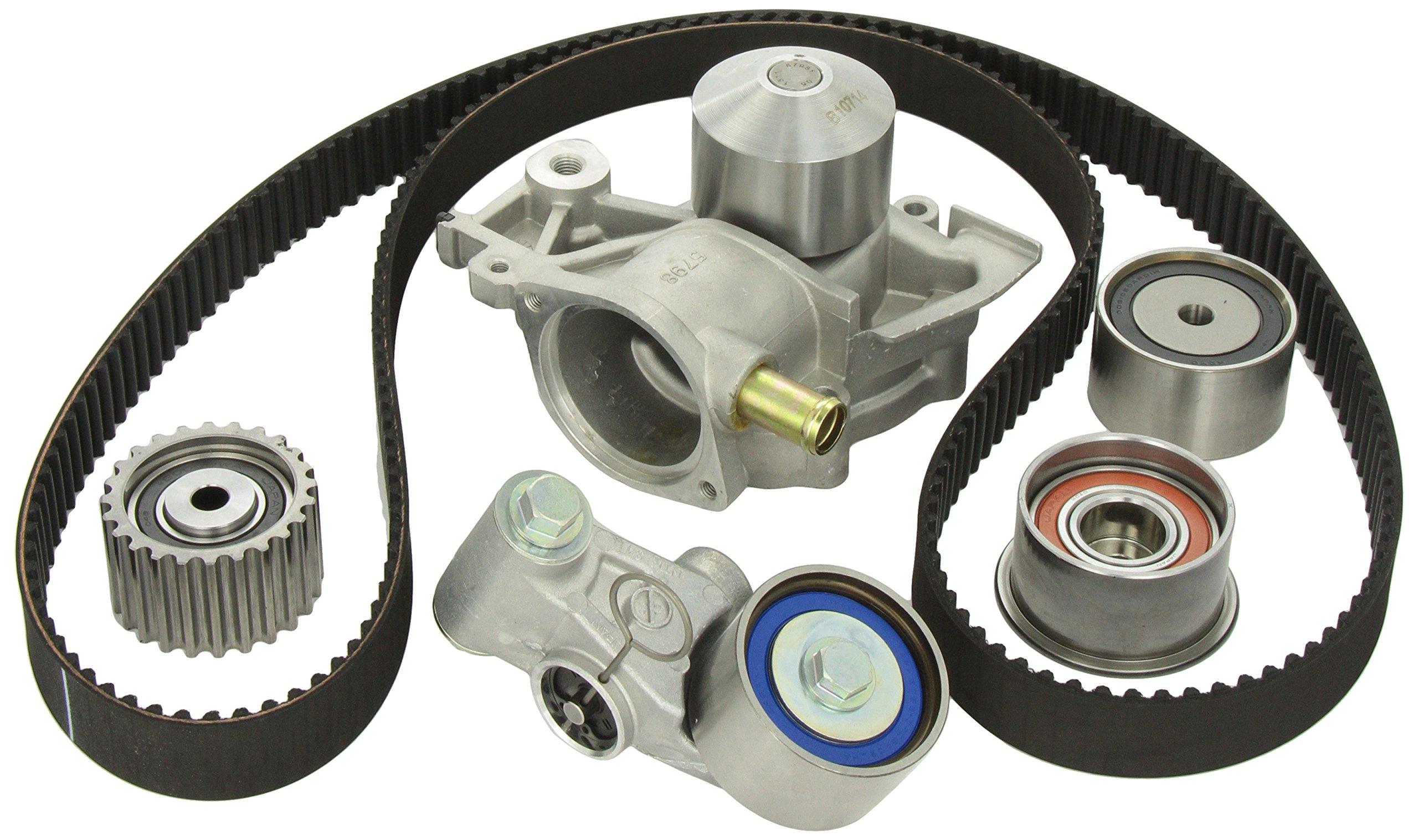 Gates TCKWP304 Engine Timing Belt Kit with Water Pump by Gates
