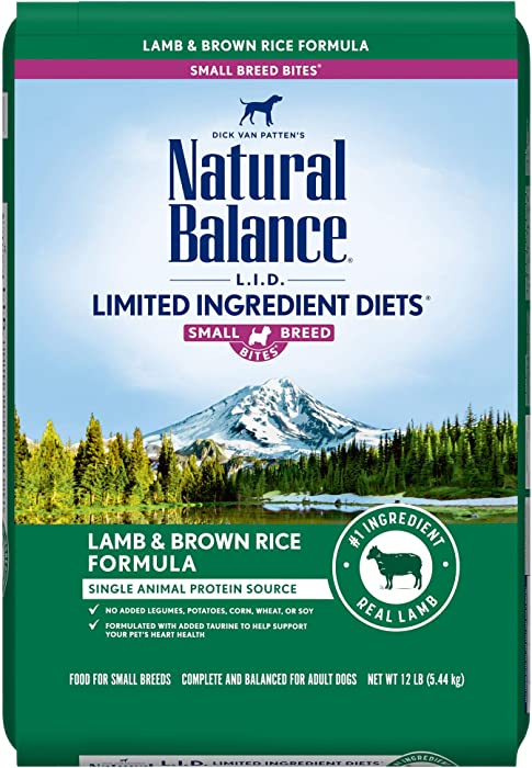 The Best Natural Balance Dog Food Small Bites 12 Lbs