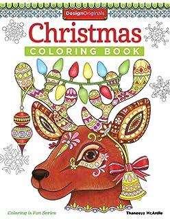 Christmas Coloring Book Is Fun Design Originals 30 Playful