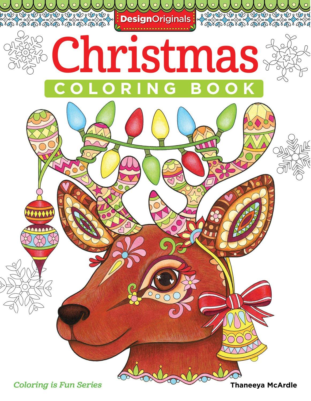 Amazon.com: Christmas Coloring Book (Coloring Is Fun ...
