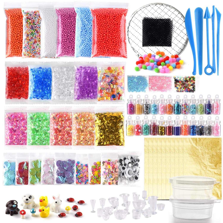 ... Granos Pecera, Papel Picado, Rodajas Frutas, Papel Azúcar, Red, Modelo Animal para Slime casero (No contener Slime): Amazon.es: Hogar