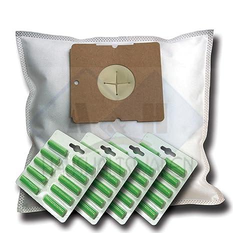 40 bolsas de aspiradora + 40 Aroma varillas Adecuado para Nilfisk COUPÉ,.. Parquet, Go – Serie, Go Plus, gm 50 60 62 65, Neo Special Xtra Bags