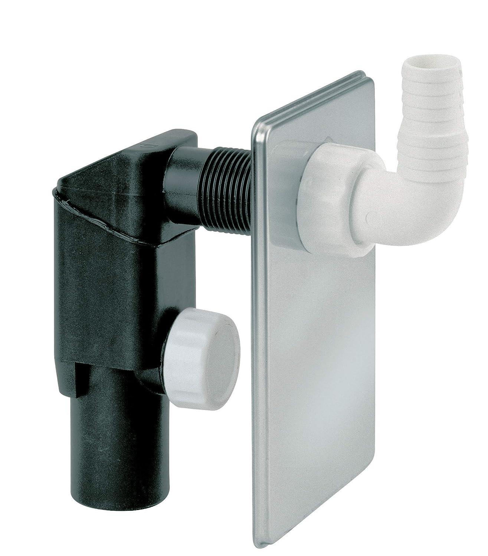 Sifón para lavadoras integrado inoxidable GOPLAST mm.40 [GOPLAST ...