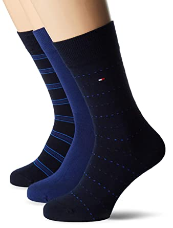 d7a562025 Tommy Hilfiger Mixed Box 3 Pack Socks at Amazon Men's Clothing store: