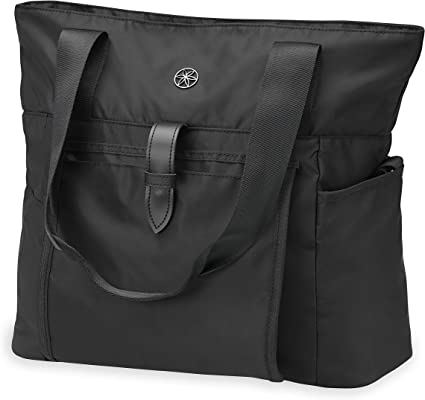 Amazon.com : Gaiam Everyday Yoga Mat Bag Tote with Yoga Mat ...