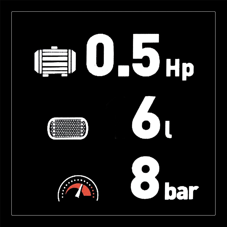 Black Decker Kompressor mit 24 Liter Tank /ölfrei