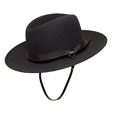 Amazon.com  Cavalry Hat by Stetson reg  71 2 Black  Clothing 3a8c0e70506