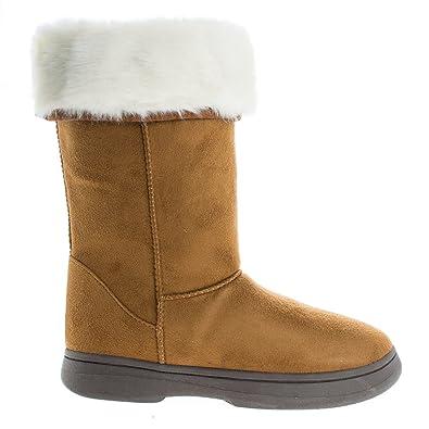 464af628288a1 Amazon.com | De Blossom Collection Women's Tara-Hi Fashion Boots ...