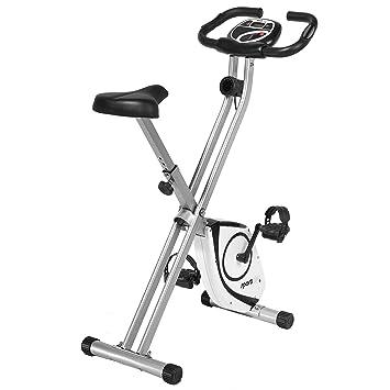 X-Bike de SportPlus con medición de pulso, sistema de frenos magnético libre de