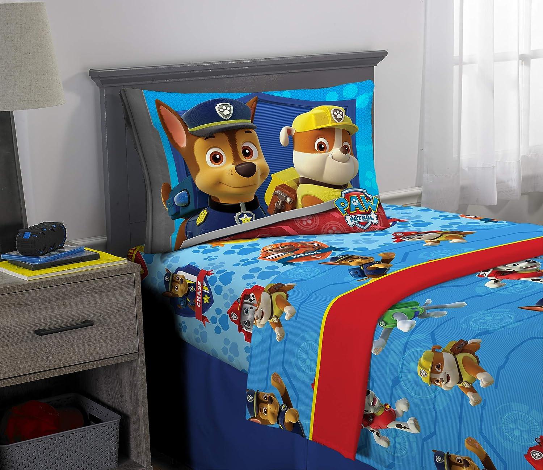 Nick Jr Paw Patrol Ruff Ruff Rescue Sheet Set Twin Amazon Co Uk