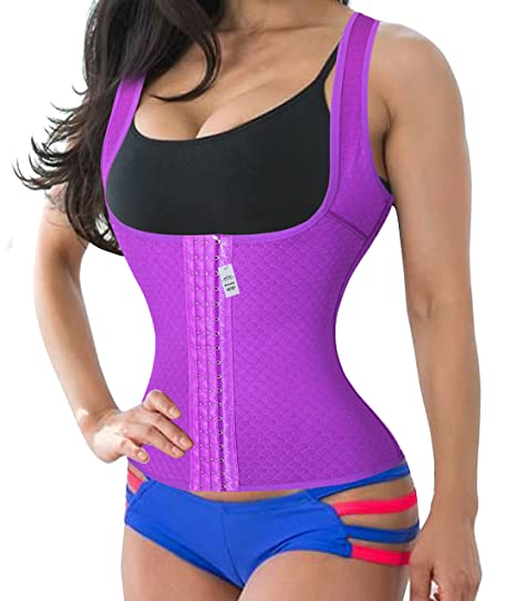 6df67aab5a Buy Gotoly XXXX-Large Purplekeep Warm Strap Plus Size Postpartum Girdle  Corset Body Briefer Bodysuit Slimming shapewear Online at Low Prices in  India ...