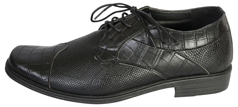 26af0ca23659 Amazon.com | Samuel Joseph Mens Python Croco Wingtip Dress Shoe, Black,  Size 11 D(M) US' | Oxfords