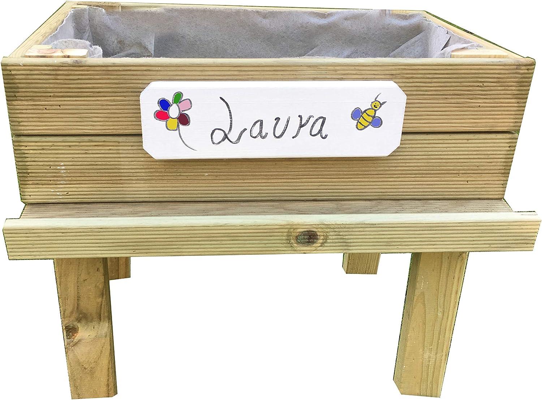 AD servicios Mesa de Cultivo (huerto Urbano) Kit Infantil 60 x 40 ...