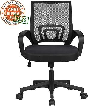 Amazon.com : Yaheetech Office Chair Ergonomic Cheap Desk Chair