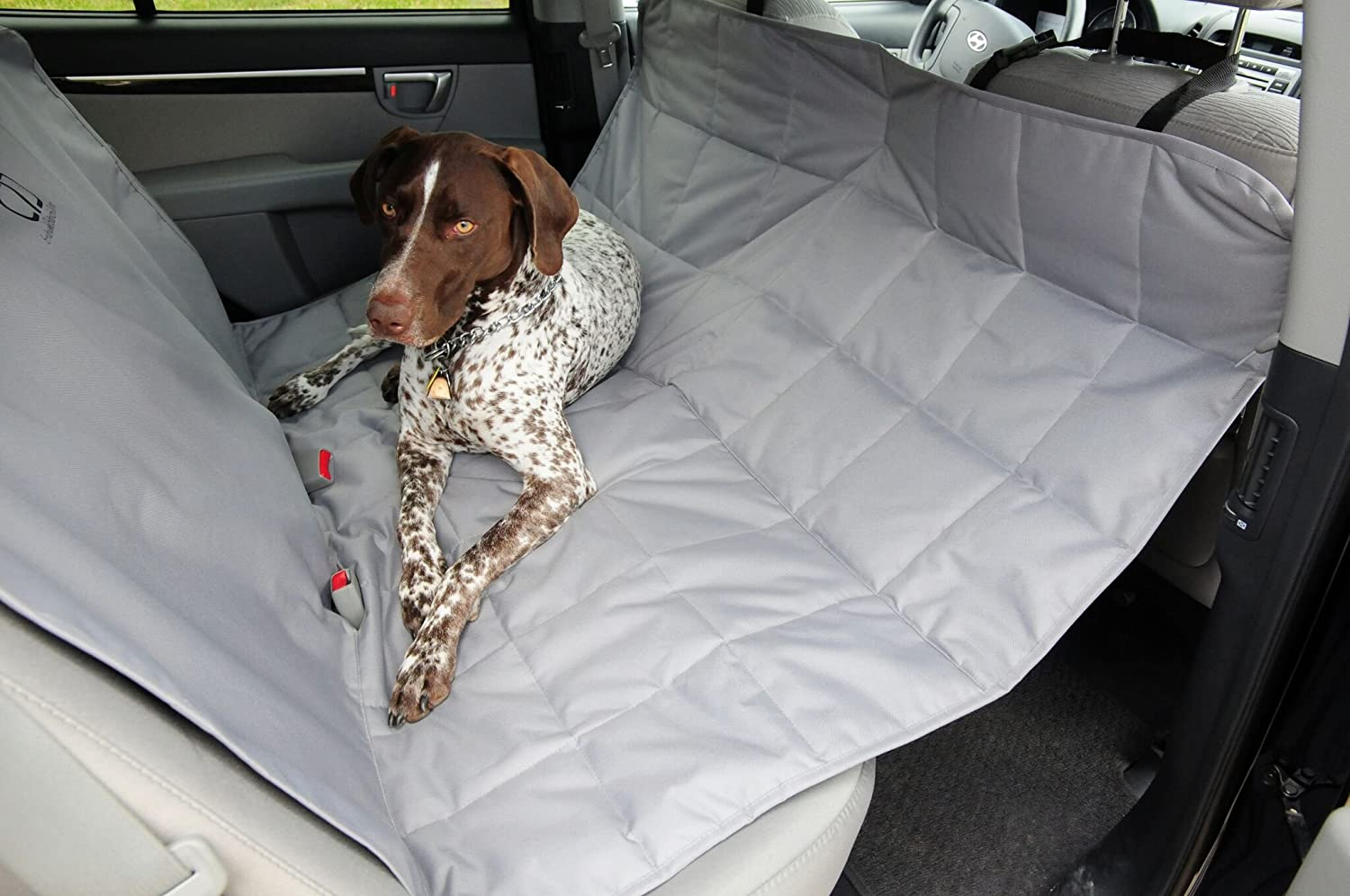 Petego Ultra Durable Scratch Proof Padded and Quilted Car Seat Covers for Pets Anthracite Quaker Pet Group 5060328-700612 Water Resistant