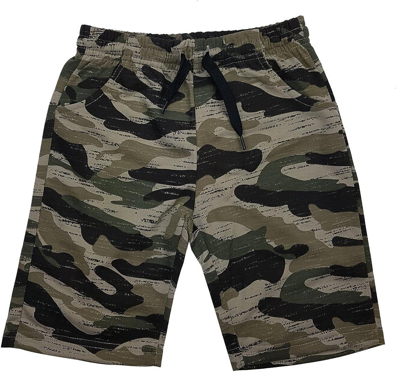 Jn6120e Fashion Boy Jungen Army Bermuda Tarn Shorts