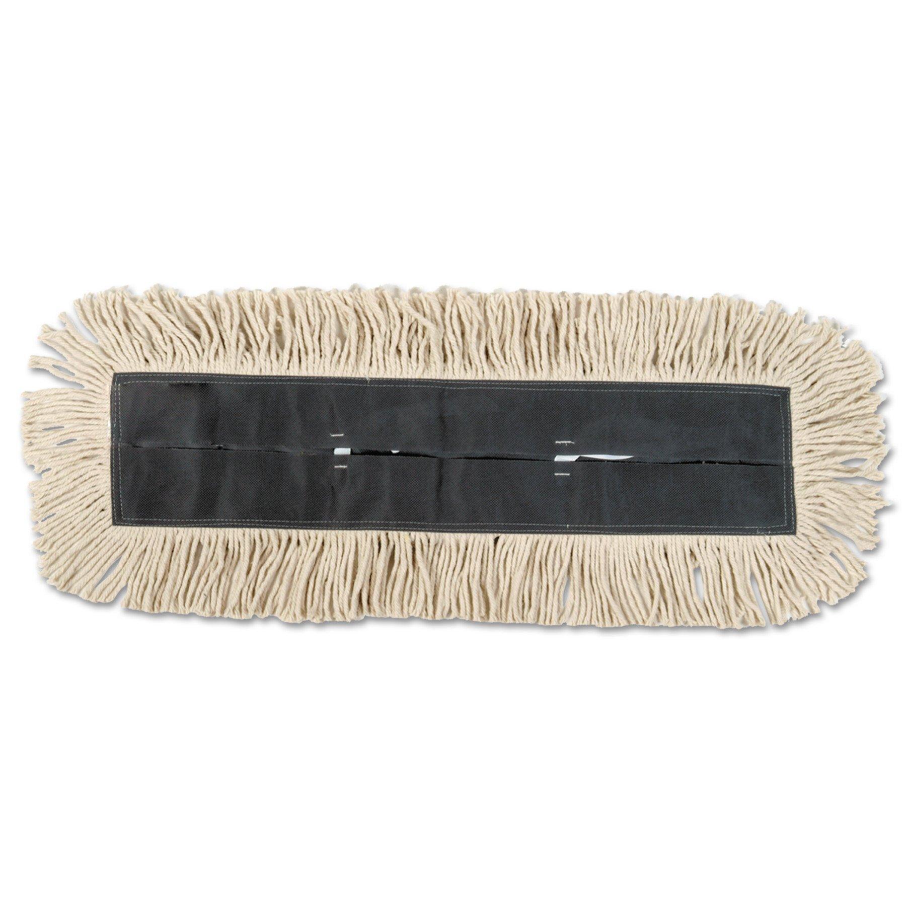 Boardwalk DD91536W 5 Inch x 36 Inch White Disposable Dust Mop (Case of 6)