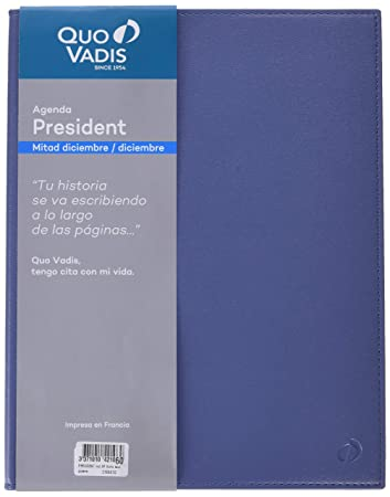 Amazon.com: Quo Vadis President - Agenda 2019, Español ...