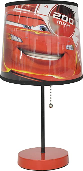 Amazon disney pixar cars 3 table lamp black 20 toys games disney pixar cars 3 table lamp black 20quot mozeypictures Image collections