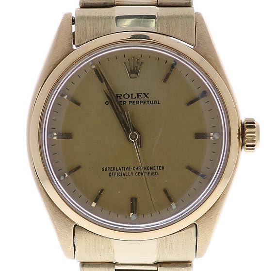 Rolex Oyster Perpetual automatic-self-wind Mens Reloj 1002 (Certificado) de segunda