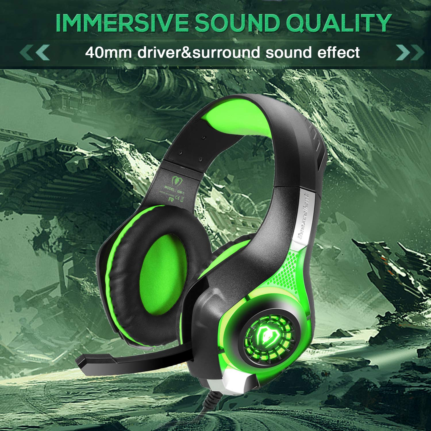 BlueFire 3 5mm PS4 Gaming Headset Headphone with Microphone
