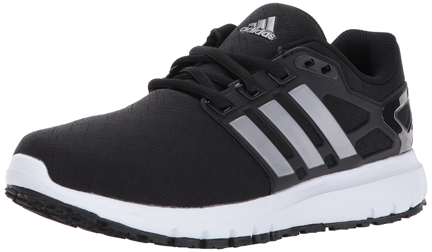 adidas Women's Energy Cloud W Running Shoe B01N45BPRA 7 B(M) US|Black/Tech Silver/Tech Silver