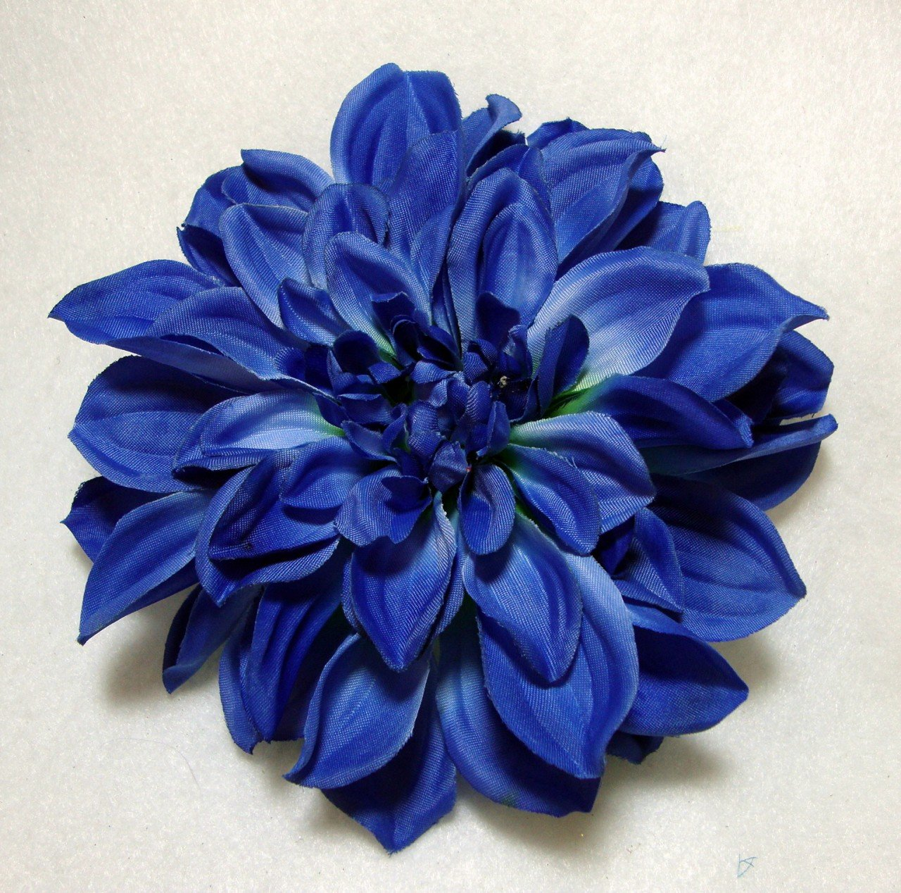 Amazon Blue Dahlia Flower Hair Clip Hair Barrettes Beauty