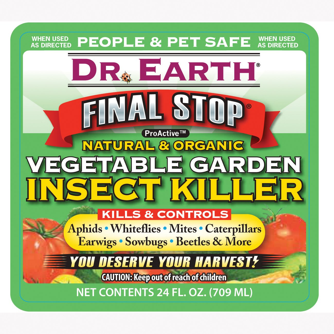 Dr Earth 8005 Ready To Use Vegetable Garden Insect Killer 24 Ounce Animals Pet Supplies Pet
