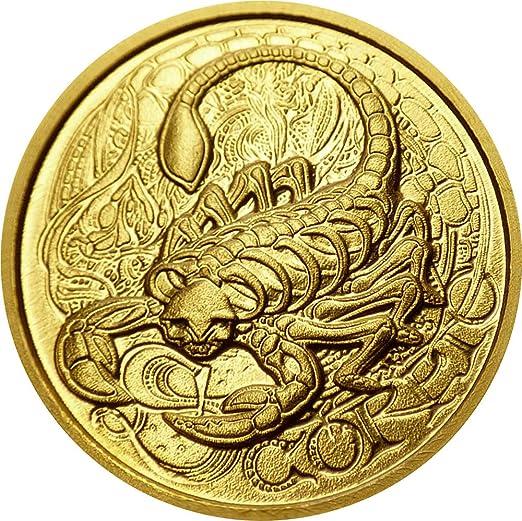 Power Coin Scorpio Escorpio Memento Mori Zodiac Skull Horoscope ...