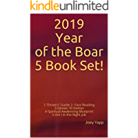 2019 Year of the Boar 5 Book Set!: 1-Thrivers' Guide 2- Face Reading 3-Qimen 10 Deities 4-Spiritual Awakening Blueprint 5-Am I in the Right job