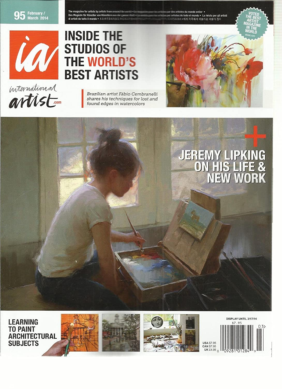 INTERNATIONAL ARTIST, FEB/MAR, 2014 (THE MAGAZINE FOR ARTIST BY ARTIST FROM s3457