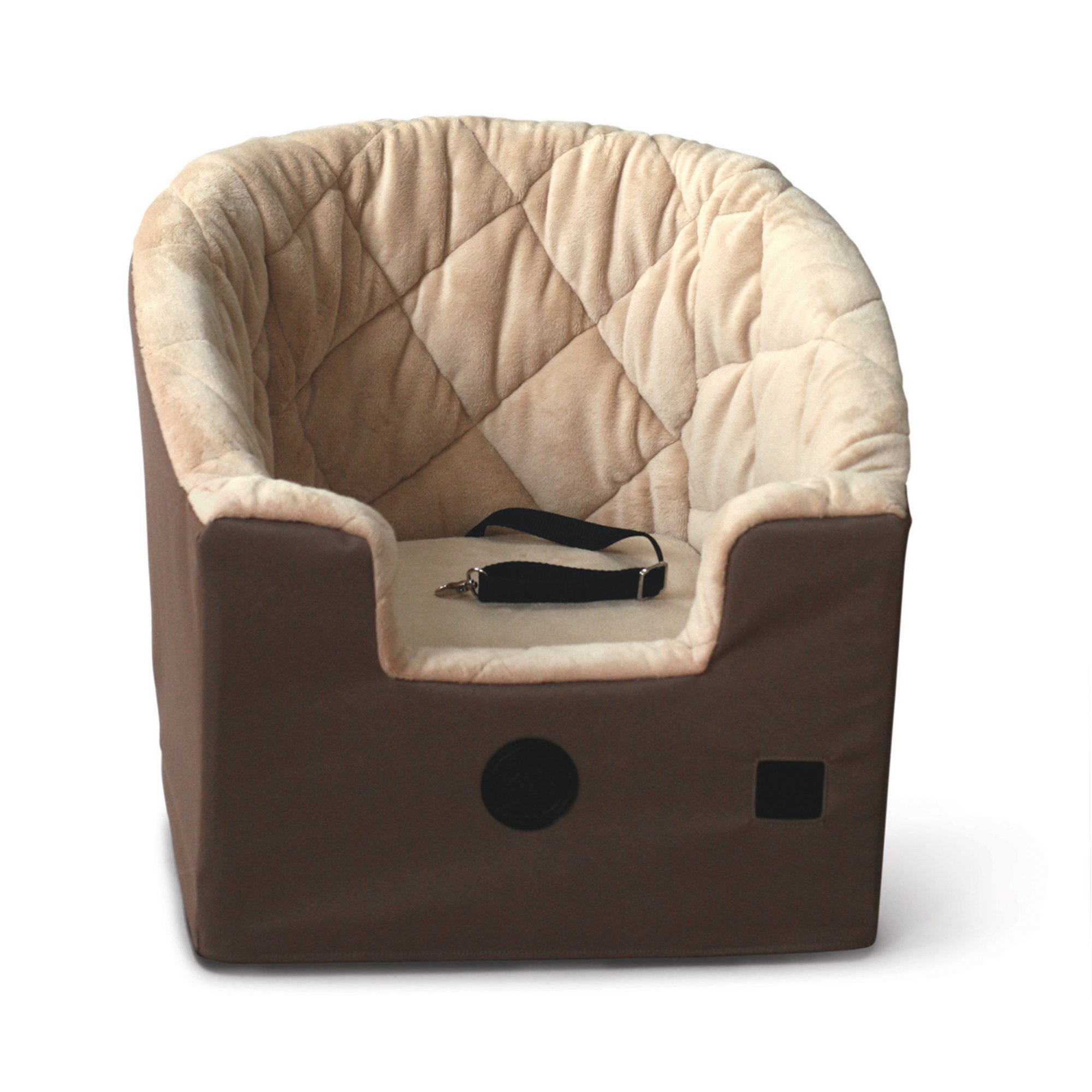 K&H Pet Products Bucket Booster Pet Seat Large Tan 14.5'' x 24''
